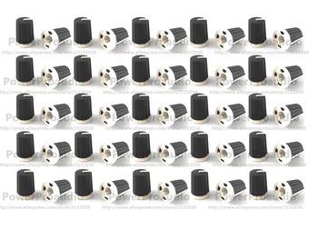 100 sztuk wymień pokrętło pokrętło dla Pioneer DJM800 900 2000 NXS czarny EQ gałka obrotowa-DAA1176 DAA1305 czarny tanie i dobre opinie PowerProaudio None