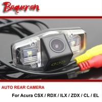 Voor Acura CSX/RDX/ILX/ZDX/CL/EL Achter view Camera Back up Reverse Parkeergelegenheid Camera Voor SONY CCD Nachtzicht
