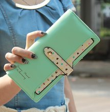 Hot Sale Women Wallets Color Block Dot Bow Women's Long Design Female Magic Wallet Ladies Long Day Clutch Coin Purse