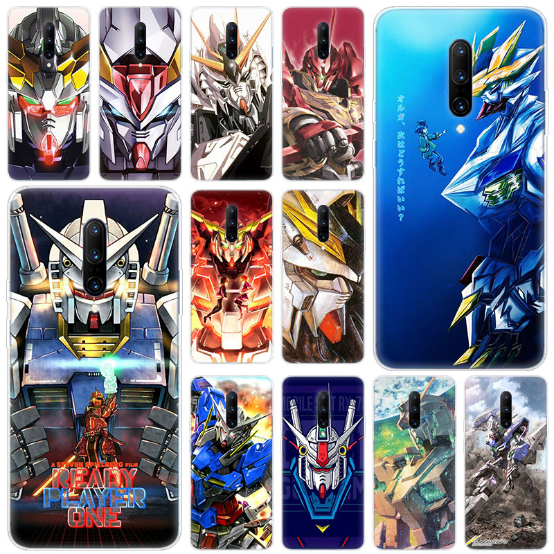 Hot Gundam Anime Soft Silicone Fashion Transparent Case For font b OnePlus b font font b