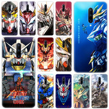 Hot Gundam Anime Soft Silicone Fashion Transparent Case For OnePlus 7 Pro 5G 6 6T 5 5T 3 3T TPU Cover
