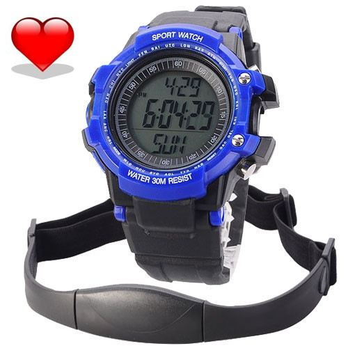 Heart-Rate-Monitor-Chest-Strap-Pedometer-Digital-Sports-Watch-with-LCD-Monitor-Exercise-Memory-Mode-Stopwatch3