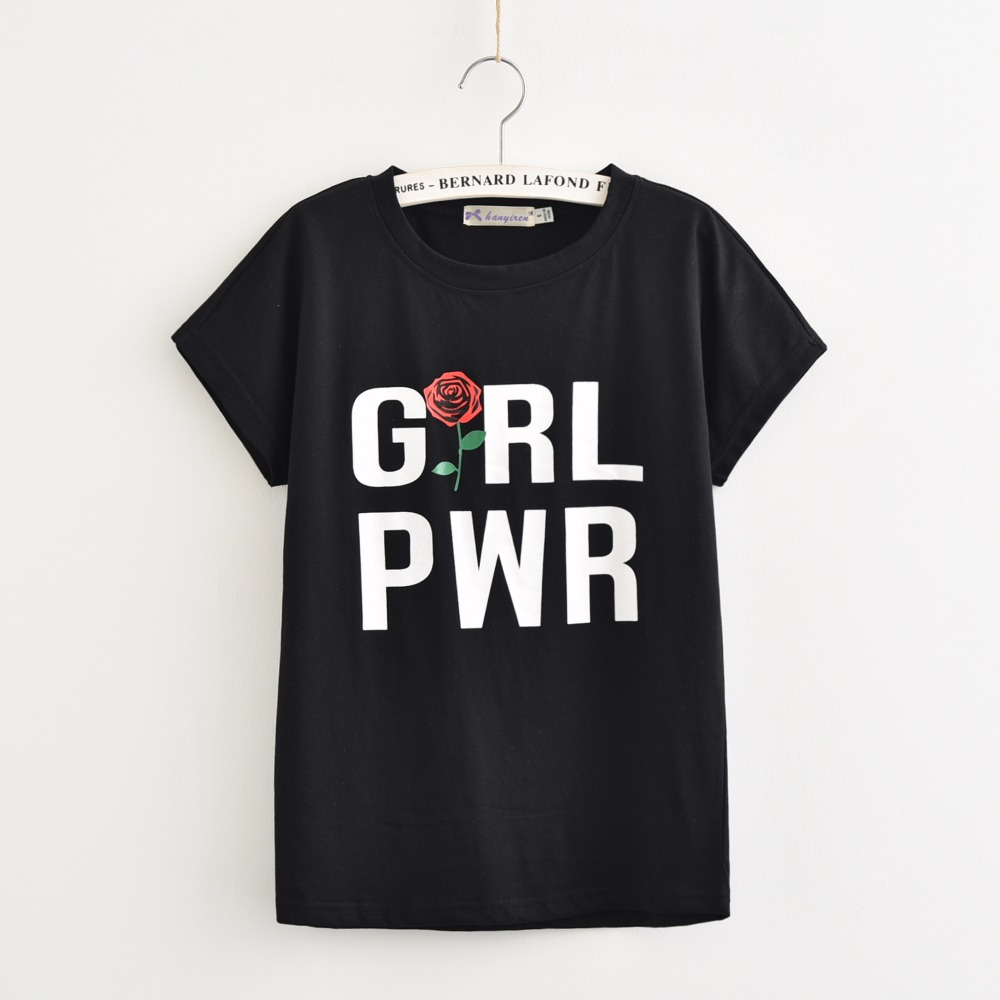 HTB123pNRpXXXXc9aXXXq6xXFXXXA - Girl Power Women T shirt PTC 52
