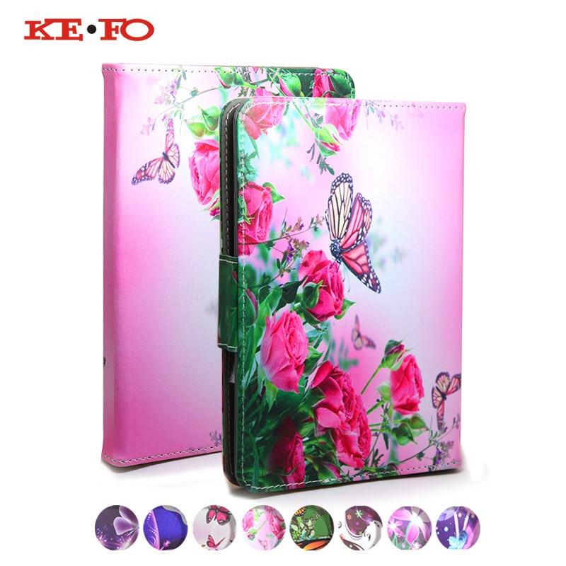 KeFo For Oysters T72X 3G Cover for Prestigio Grace 3157 4G 7 inch Tablet Stand Flip Leather tablet Case 7.0 Universal bags+3gift планшет prestigio multipad grace 3157 4g 8gb черный