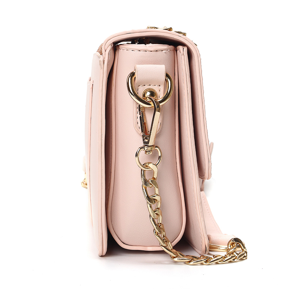 2019 Classic Women Sequined Messenger Bag Quality Leather Women 39 s Flap Bag Chain Strap Female Shoulder Bag Lay Crossbody Bags in Top Handle Bags from Luggage amp Bags