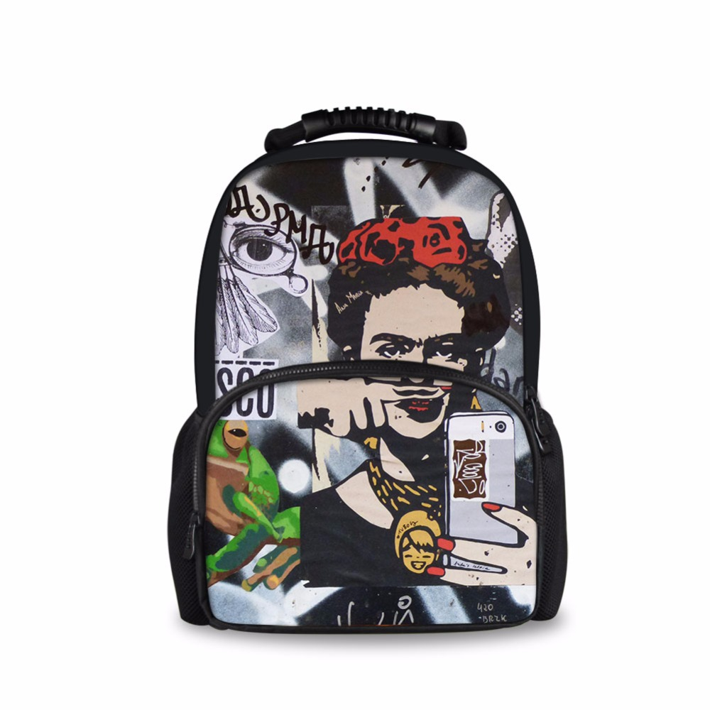 FORUDESIGNS Laptop Backpack Men Women Bolsa Mochila for 14-17Inch Notebook Travel Rucksack School Bag Backpack for Teenagers