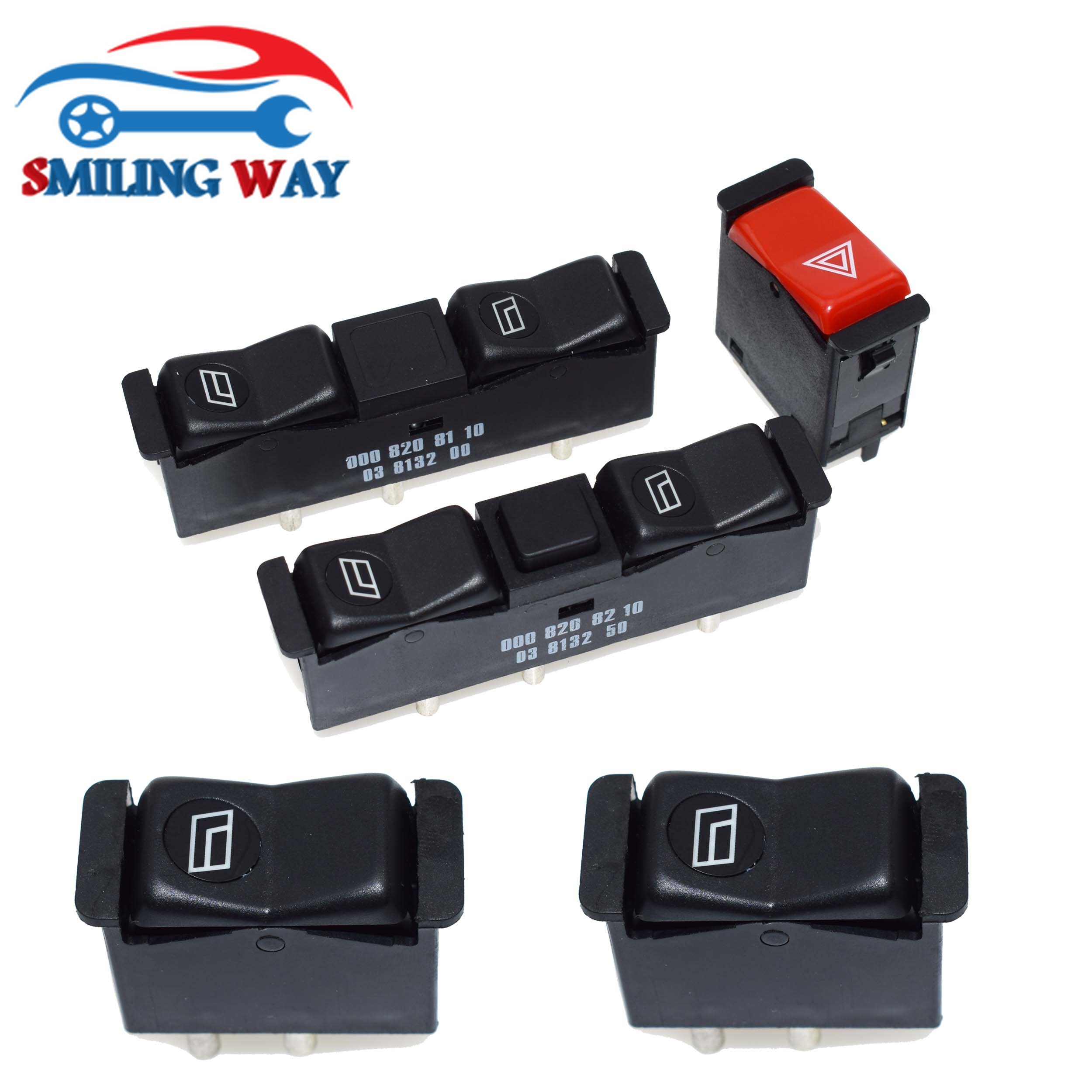 For Benz 190D 300D Front Right Passenger Side Power Window Switch 0008208110