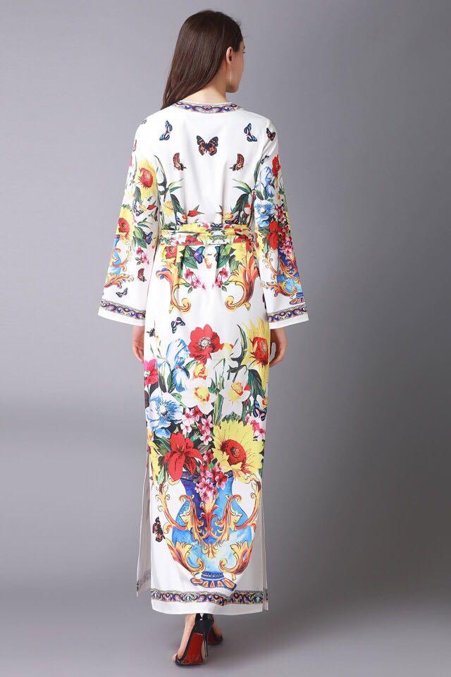 Style Célèbre 2019 Luxe Design Mode Femmes Supérieure Printemps De Qualité Robe Hfa02438 Européenne Partie Nouvelle NwnOmPyv80