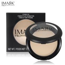 IMAGIC 4 Color Face Makeup Matt Powder Rare Cosmetic Pressed Matte Highlight Contour Shading