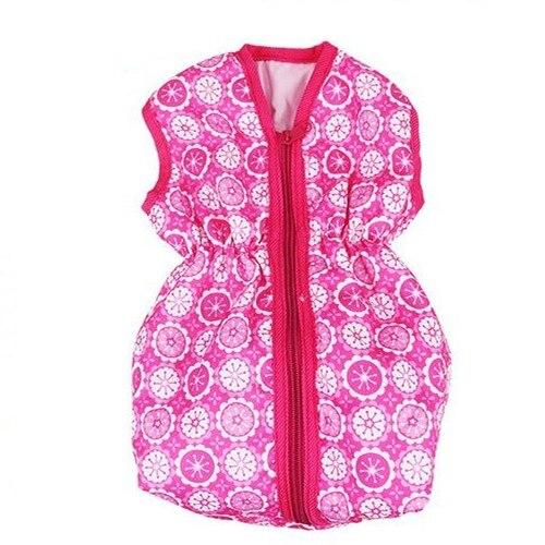 Meired zipper sac de couchage porter pour 43 cm/17 pouces bébé poupée (seulement vendre sac)