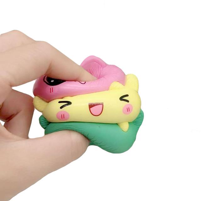 Cute Squishy Kitten Panda Cat Bear Toy
