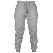 SHUJIN Brand Men Harem Pants Autumn Fashion Solid Workout Male Pants Casual Elastic Waist Sportwear Bodybuilding