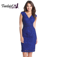 Fantaist Summer Fall Women Dresses Scollaped Wrap Sexy Deep V Neck Cocktail Party Casual Slim Mini