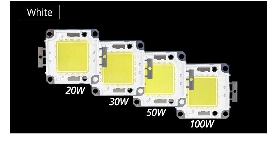 LED Chip 12V 10W 30V-36V 20W 30W 50W 100W Integrated COB LED Beads DIY Floodlight (6)