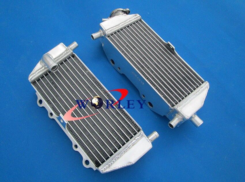 Aluminiowy radiator wyścigowy dla Kawasaki KX125 KX250 KX 125 250 94-02 95 96 97 98 99 00 01 1994 1995 1996 1997 1998