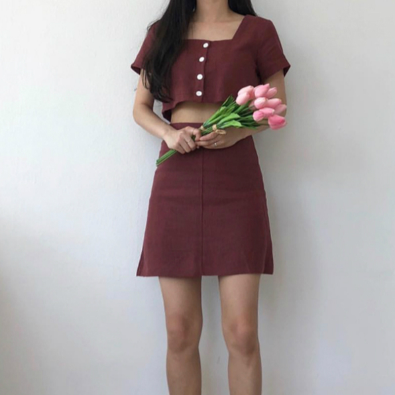 Aliexpresscom  Buy Women Summer Sexy Elegant Linen Two -5786