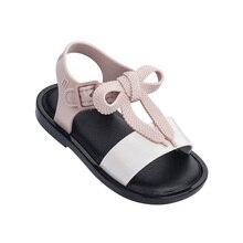 Mini Melissa 2019 New Summer Girls Boys Jelly Shoes Girl Sandals Non-slip Kids Beach Sandal Toddler Shoe Soft Sandals