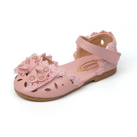 Girls Sandals For Children Summer Shoes Kids Baby Girls Lovely Lace Princess Shoes With Bow Infant