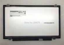 Бесплатная доставка B140HAN01.7 B140HAN01.2 B140HAN01.1 30pin 1920*1080 IPS Для Lenovo T440 Y40 ЖК СВЕТОДИОДНЫЙ экран с FRU: 00HN874