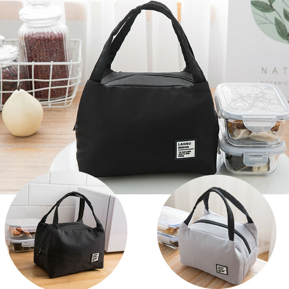 2019 Newest Hot Lunch Bag For Women Men Thermal Insulated Lunch Box Thermos Tote Picnic Food Bag High Quality Waterproof  Bag