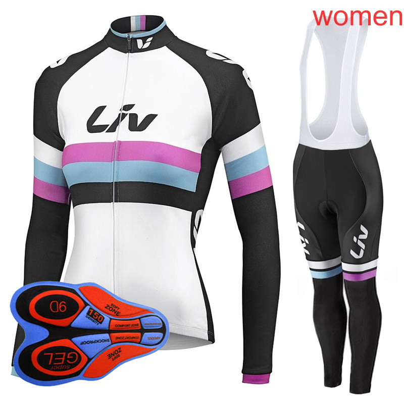Ropa Ciclismo Mujer Cycling Jersey Set 2019 Women's Mountain Bike Clothing long sleeve Breathable Mtb Bicycle sportswear Y032602|Cycling Sets| |  - title=
