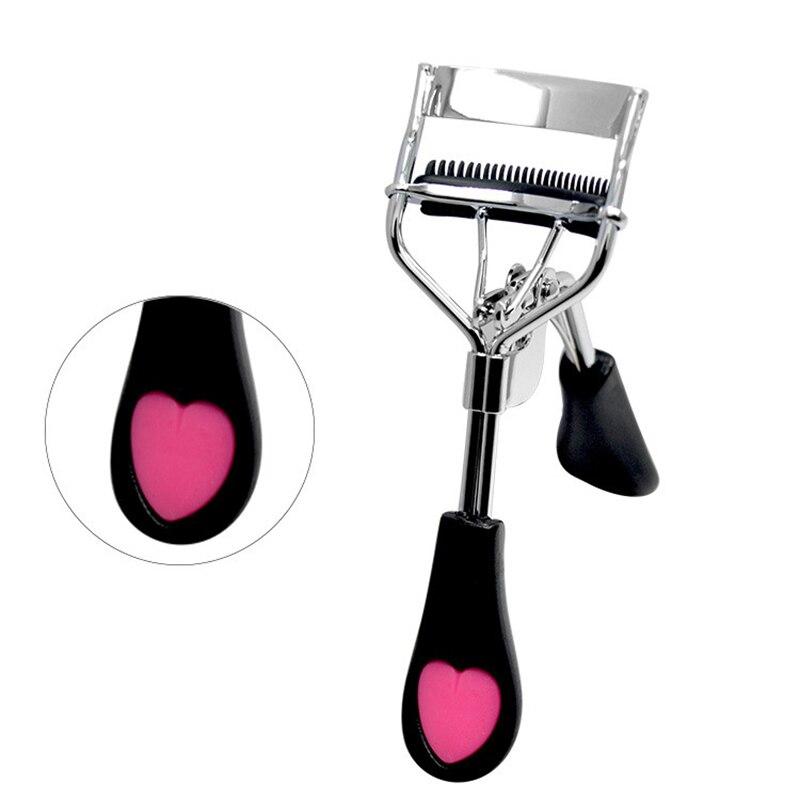 1pc Women Lady Professional Eyelash Curler Supplementer Clip Nature Curl Eye Lash Eyelash Tweezers Maquillaje Profesional