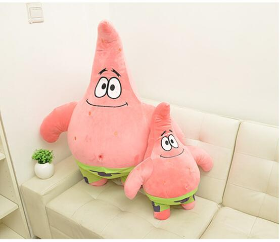 1pcs Cartoon Animal Doll Toy Plush Toy Patrick Star Toys for children Birthday gift 26cm bookfong 1pc 35cm simulation horse plush toy stuffed animal horse doll prop toys great gift for children