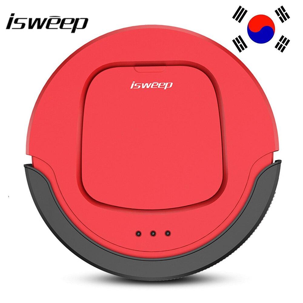 ISWEEP S550 Intelligent Robot Aspirateur Sans Fil Vide Balayeuse De Nettoyage De Sol Avec Wifi Télécommande Et Auto Charge Pour La Maison