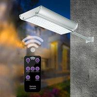 70LED Motion Radar Sensor Solar Light Street Light With 5 Modes Remote Controller Waterproof IP65 For Garden/Street 25