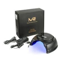 2016 MelodySusie 60W LED UV Light Lamp Gel Nail Dryer for Curing LED Gel &UV  Nail Polish Black Salon quality