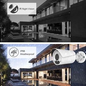 Image 5 - Uniview (Hikvision תואם) 8MP Bullet IP המצלמה PoE Onvif בית/חיצוני אבטחת CCTV מעקב ראיית לילה IPC UNB180W