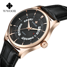 New Gold Black Hollow Watch Dress Waterproof Watches Men Leather Strap Casual Business Watch Analog Display Date Men's Quartz цена 2017