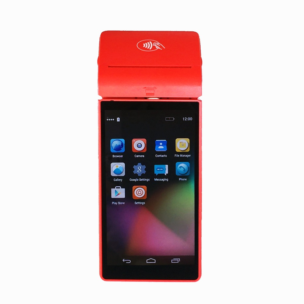 China RUGLINE RP2000L Handheld Wireless Android POS Terminal With Card Reader Payment Ways Bluetooth Wifi Thermal