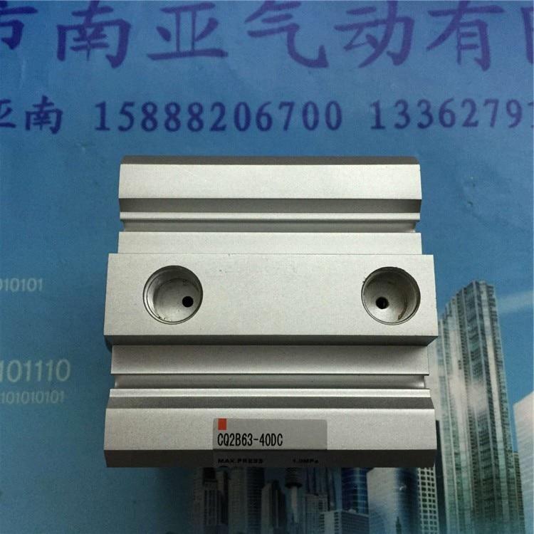 CQ2B63-40DC CQ2B63-30DMZ-XB6 SMC cylindre mince cylindre d'air cylindre Compact composants pneumatiques outils pneumatiques