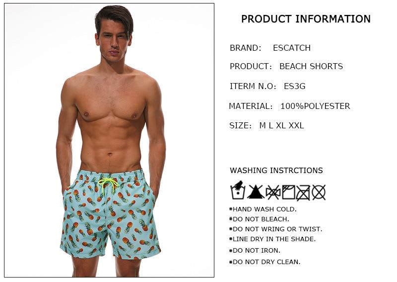 Shorts de praia e surfe