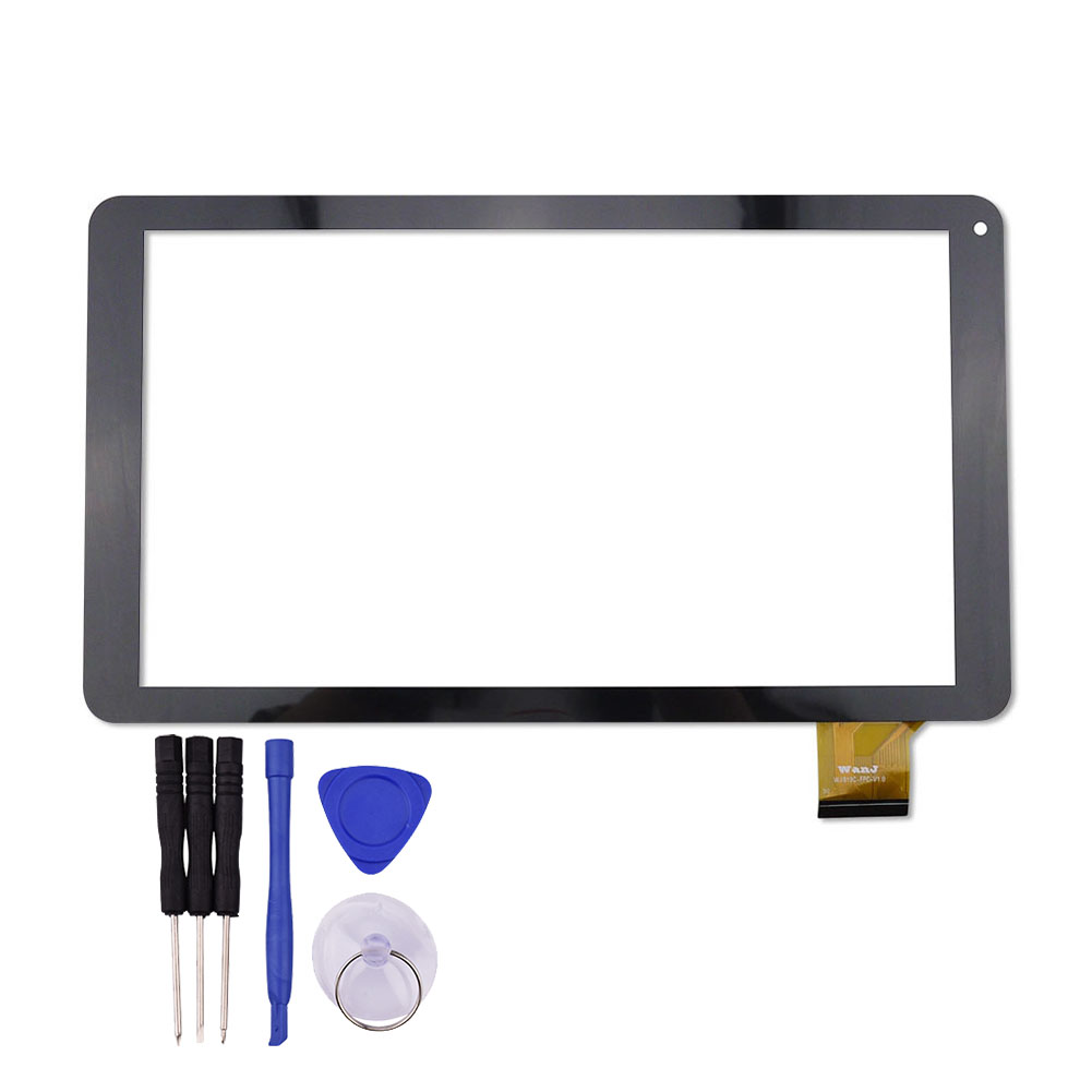 New for TZ13 3G 10.1 inch Touch Screen Tablet PC Glass Panel Sensor Digitizer Replacement Free Shipping trendy v neck short sleeve leopard printed plus size dress for women