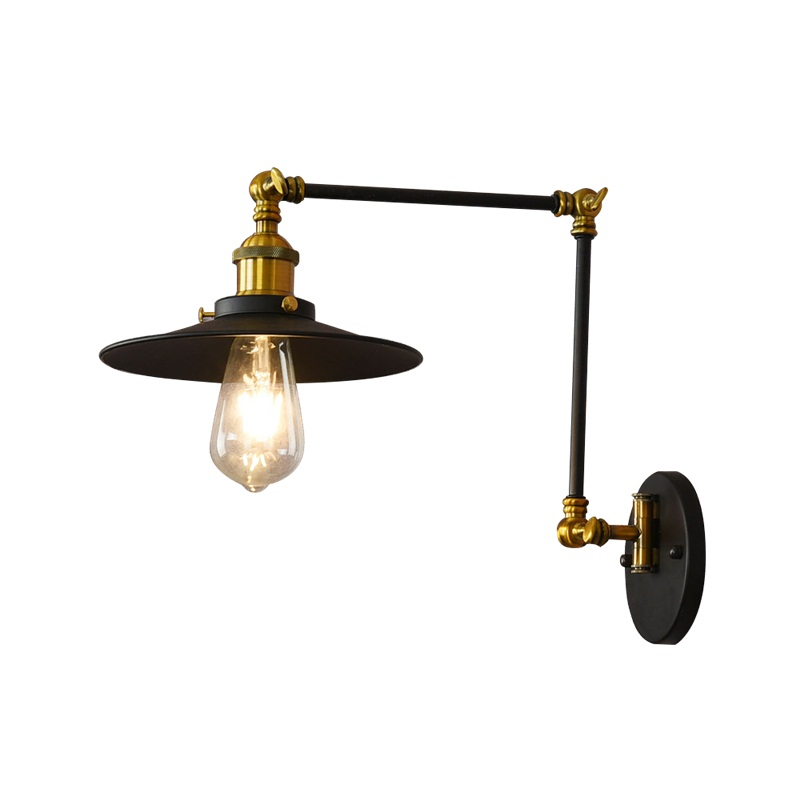 Loft Style Double Adjust Wall Sconce Iron Antique Lamp Edison Industrial Vintage LED Wall Light Fixtures Home Lighting Lampara iwhd iron metal industrial wall light fixtures home lighting loft style edison vintage wall lamp sconce luminaire lampara pared