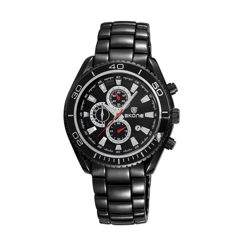 ФОТО SKONE Men Watches Luxury Brand Quartz Watch Black Military Shock Resistant Sport Wristwatches Relogios masculinos Reloj Hombre