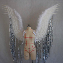The new angel wings fashion show festival party props wing feather decoration underwear clothing