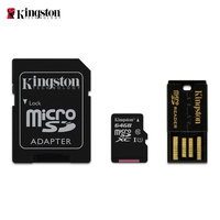 Kingston Technology MBLY10G2/64GB 64 GB Class10 micro SDXC Tarjetas de memoria, Color Negro