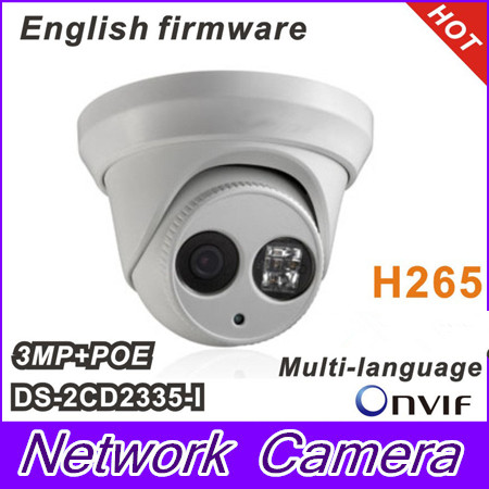 2015 New Multi-language DS-2CD2335-I replace DS-2CD2332-I 3MP Mini Dome Camera 1080P POE IP CCTV Camera