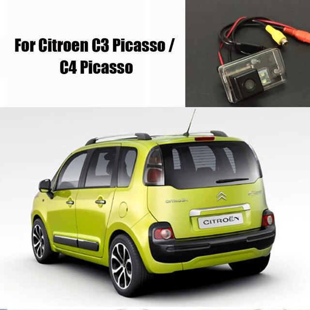 aff8e8a2e Cámara de Vista trasera de coche para Citroen C3 Picasso/C4 Picasso/cámara  de