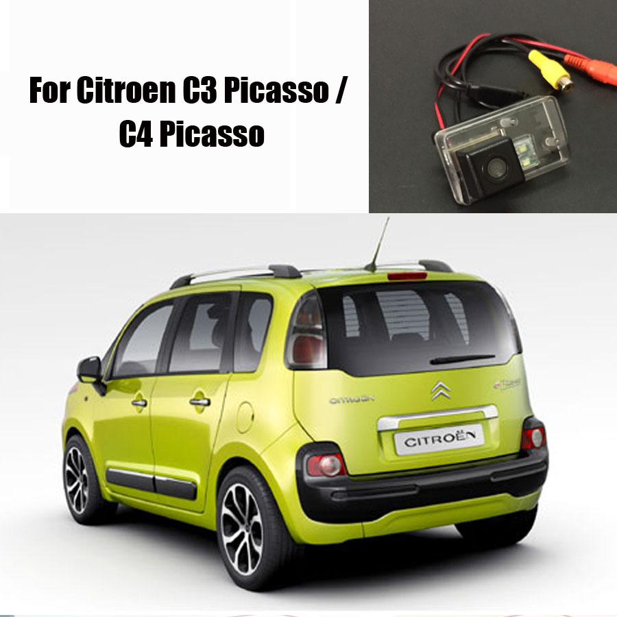 car rear view camera for citroen c3 picasso c4 picasso. Black Bedroom Furniture Sets. Home Design Ideas