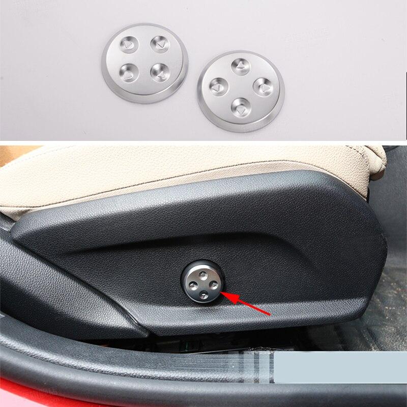 2 Stks Interieur Seat Aanpassing Cover Trim Fit Voor Mercedes Benz E Klasse W213 16-17 & C Klasse W205 15-17 & Glc Klasse X205 2016-2017 Pure Witheid