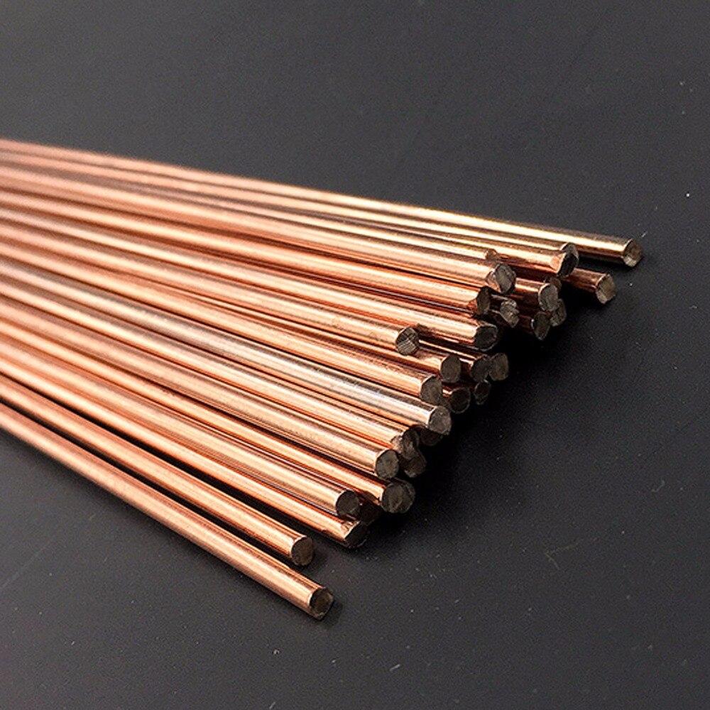 Copper phosphorus brazing welding rods solder phoscopper alloy brass bronze flat round 2mm 2.5mm 3mm 4mm