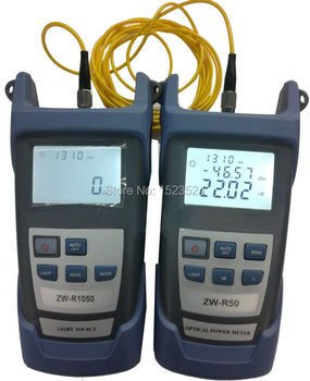 Fiber Optik Multimetre-50 ~ + 26dBm El Fiber Optik Güç Ölçer + Fiber Optik Işık Kaynağı 1310/1550nm
