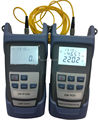 Fibra óptica multímetro - 50 ~ + 26 dBm de mano de fibra medidor de potencia óptica Optical Fiber Light fuente 1310 / 1550nm