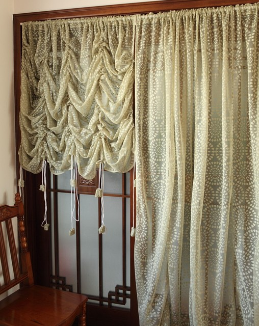 design this pictures its gingham with shades ideas remodel ballon curtain shade and beautiful silk pin decor sumptuous curtains balloon trim
