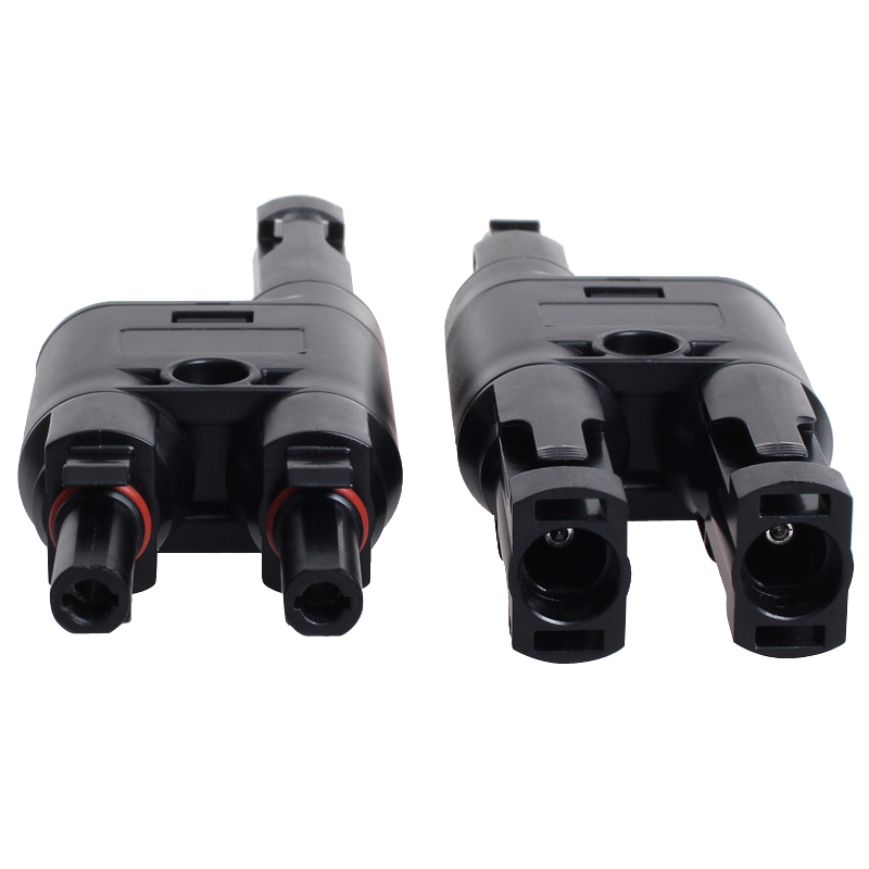 MAYLAR@ 2 Pairs H Type MC4 Style Branch Connectors With CE, TUV.Be Used Solar Generator System, Free Shipping