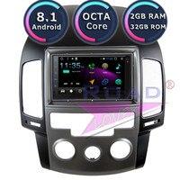 TOPNAVI Android 8.1 Car Multimedia Player For Hyundai I30 2009 Auto Manual Stereo GPS Navigation Magnitol 2 Din Radio MP3 NO DVD
